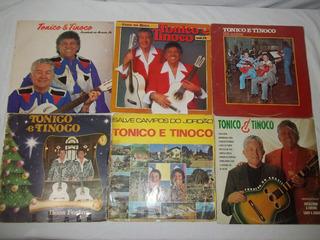 Lp Vinil Lote 6 Discos Tonico E Tinoco Com Raros