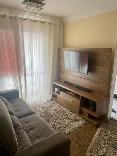 Apartamento Com 2 Dormitórios À Venda, 49 M² Por R$ 270.000,00 - Vila Carrão - São Paulo/sp - Ap7278
