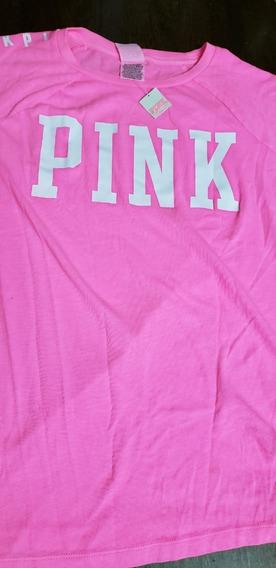 Remera Pink Original Con Etiqueta