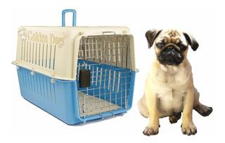 Caja Jaula Transportadora Para Perro Mediano - Viaje Aereo
