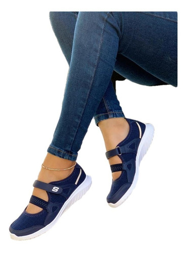Imagen 1 de 2 de Tenis Zapatillas Mafalda Para Dama. Calzado Para Mujer Lu
