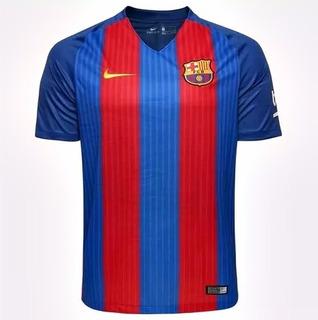 Camisa Original Barcelona Nike Dry-fit Frete Grátis