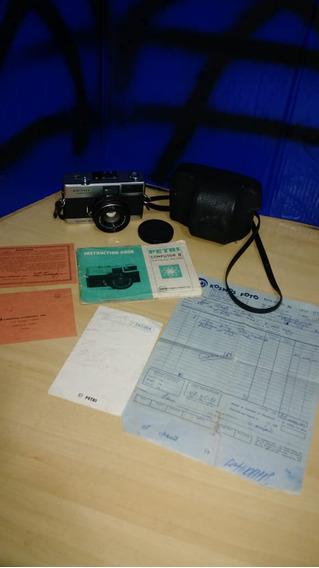 Máquina Fotográfica Petri Ll ( Leia O Anúncio )