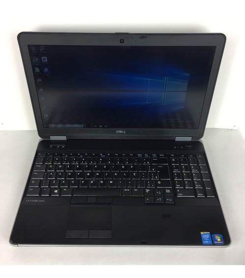 Notebook Dell Latitude E6540 I7 16gb Ssd 256gb