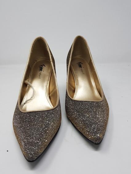 Zapato Tacon Fioni Night Con Brillos* La Segunda Bazar