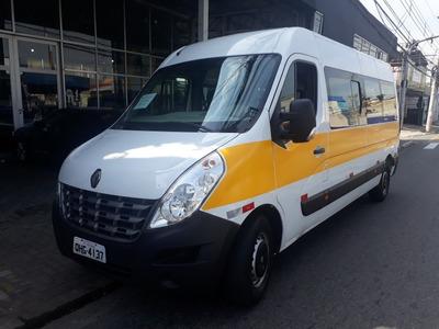 Renault Master 2.3 Vip L3h2 2014 20 Lugares Escolar