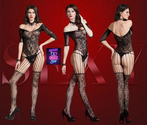 Malla Sexy Bodystocking Lenceria Import Body Mallas Sex Shop