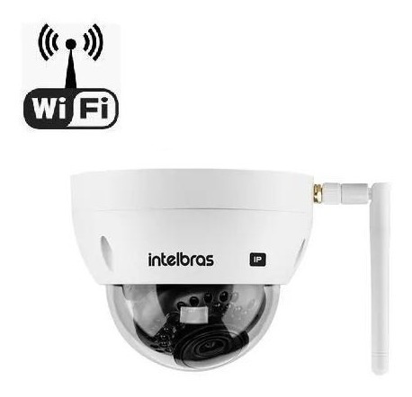 Câmera Wifi Intelbras Vip 3230 D W Full Hd Interna/externa