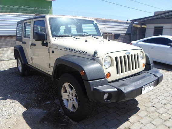 Jeep Wrangler 4x4 Unlimited Rubicon 3.8 Full Aut Año 2011