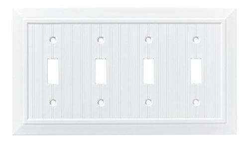 Placa De Pared Clásica Simple, Cubierta Para Interruptor (pa