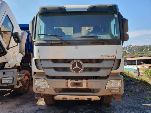 Imagem 1 de 15 de  Mercedes-benz Actros 4844 8x4 Ano 2014 Caçamba   Total 3