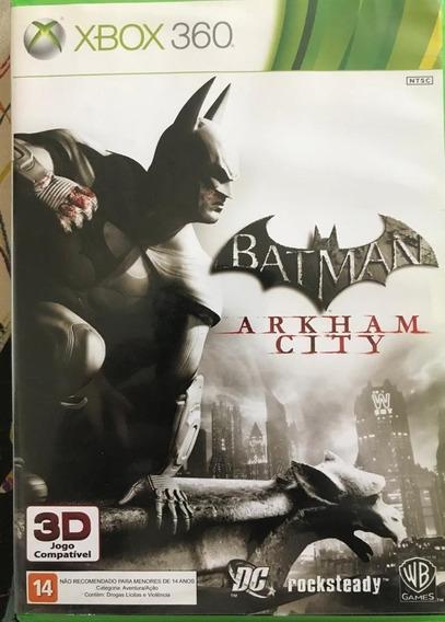 Jogo Arkham City Xbox 360