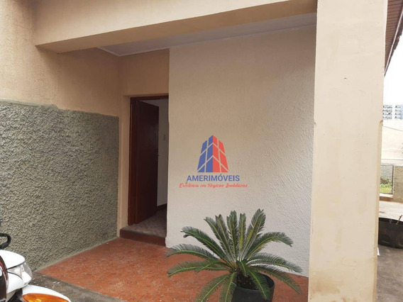 Casa Com 2 Dormitórios Para Alugar, 90 M² Por R$ 1.300,00/mês - Vila Pavan - Americana/sp - Ca1271