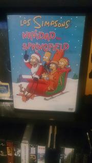Los Simpsons Navidad En Springfield Dvd Original