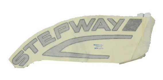 Letreiro Adesivo Traseiro Stepway Sandero 2008-2011