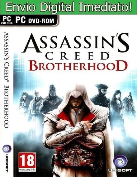 Assassins Creed Brotherhood Pc Original Envio Imediato!