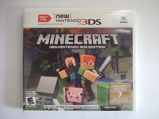 Minecraft New Nintendo 3ds Edition New 3ds