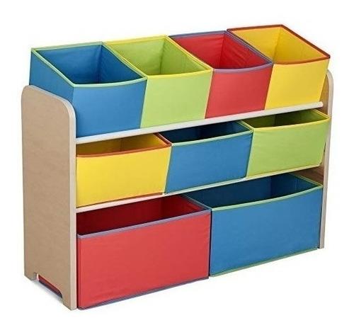 Imagen 1 de 3 de Organizador Juguete Delta Children Multicolor Deluxe Con Con