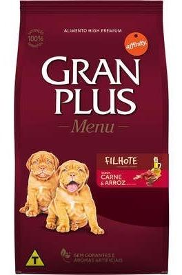 Ração Gran Plus Filhote Carne E Arroz 15kg