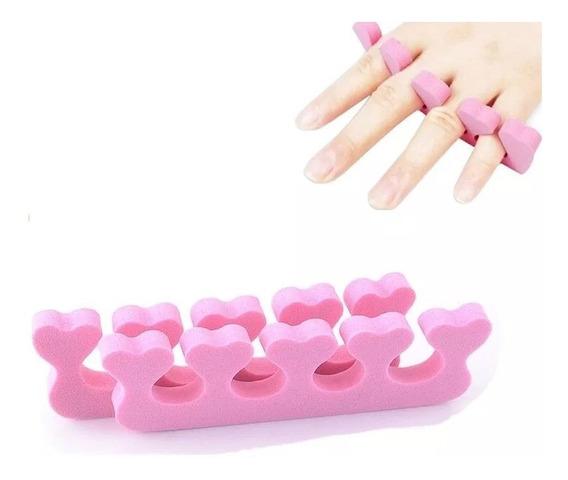 4u Separadores De Dedos Uñas Esmalte