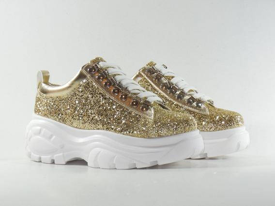 Zapatillas Mujer Gliter
