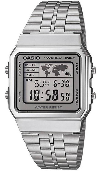 Relógio Unissex Casio Vintage Digital Fashion A500wa-7df
