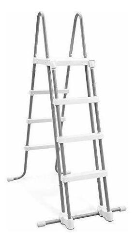 Intex - Escalera Para Piscina De 48 Pulgadas Con Peldaños D