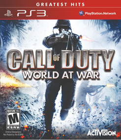 Jogo Call Of Duty World At War Playstation 3 Ps3 Guerra Fps