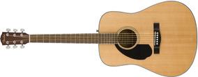 Guitarra Clasica Fender Cd-60s Zurda Natural - Cuotas