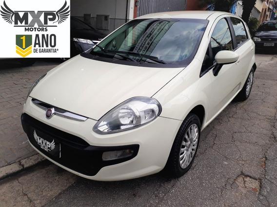 Fiat Punto 1.4 Attrative 2014 1 Ano Garantia 4 Pneus S.novos