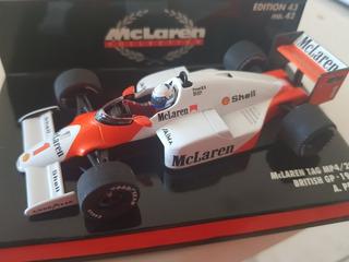 F1 - Alain Prost - Campeão 1986 Mclaren - 1:43 - Minichamps