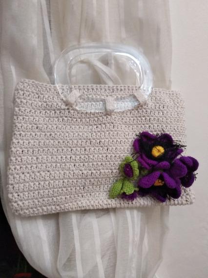 Bolsa Em Croche