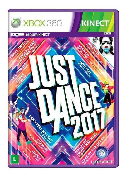 Just Dance 2017 Xbox 360 Novo Lacrado Mídia Física