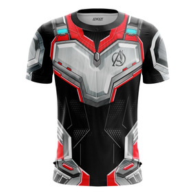 Camisa Camiseta Traje Guerra Infinita 3d Vingadores Ultimato