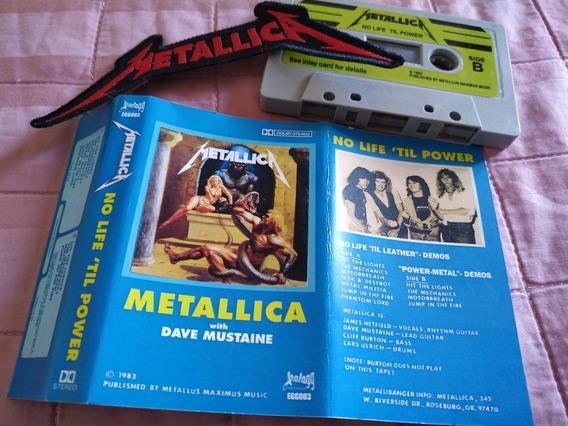 Fita Cassete K7 Metallica Com Dave Mustaine - Power Metal