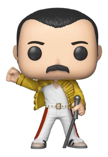 Boneco Funko Pop Rocks Queen Freddie Mercury Wembley 96