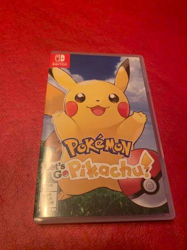 Pokemon Lets Go Pikachu En Stock Switch Fisico