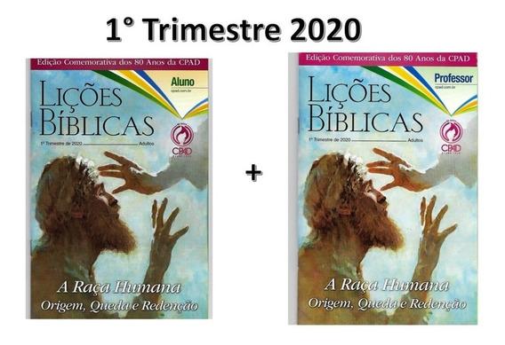 Kit Revistas Lições Bíblicas Adulto 8 Alunos + 4 Professor