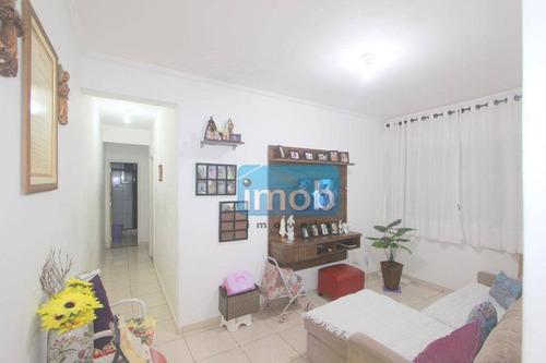 Grande Oportunidade - Venda Ou Permuta Por Apartamento De 1 Dormitorio Em Santos Em Prédio Com Elevador. - Ap7683