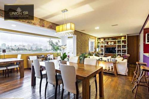 Imagem 1 de 24 de Apartamento Duplex Com 6 Dormitórios À Venda, 237 M² Por R$ 3.490.000,00 - Brooklin - São Paulo/sp - Ad0229
