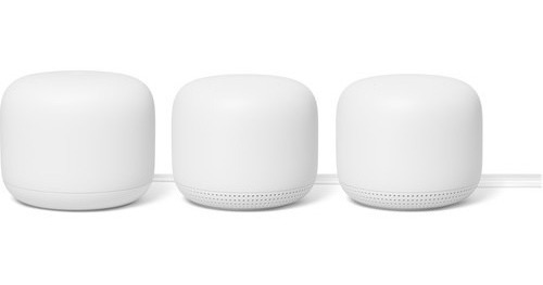 Google Nest Wifi Mesh Router Ac2200 Nuevo Kit X3 Factura A
