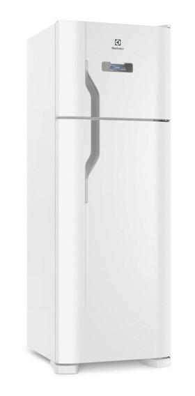 Geladeira frost free Electrolux TF39 branca com freezer 310L 110V