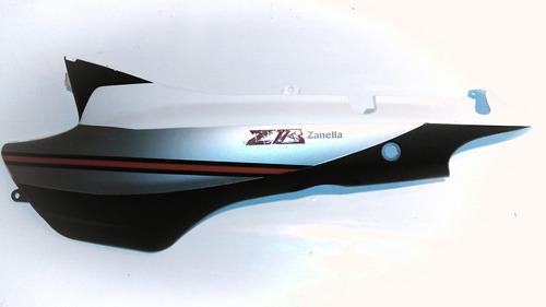 Imagen 1 de 6 de Tapa Lateral Izquierda Blanco Zanella Zb 110 Z1 - Full (mt6