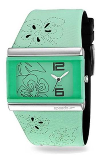 Relógio Feminino Speedo 80538l0ebnp5 Analógico Verde