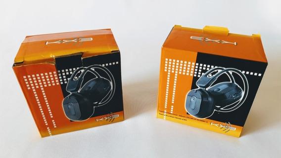 Par De Fones De Ouvido Wireless Kx3 C/ Sistema Infravermelho