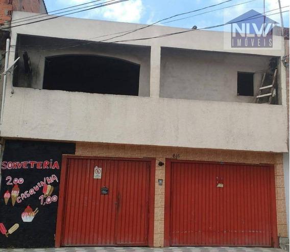 Casa Com 5 Dormitórios À Venda, 110 M² Por R$ 250.000 - Vila Jacuí - São Paulo/sp - Ca0047