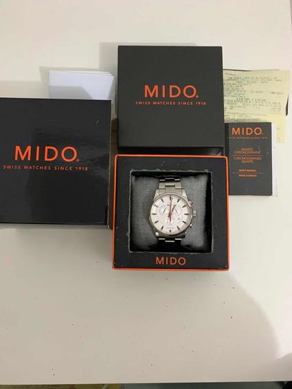 Relógio Mido Multifort M005.417.11.031.00 - Com Nota Fiscal