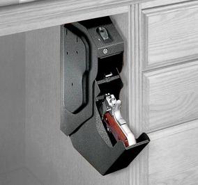 Cofre Para Arma Curta Biométrico - Acesso Rápido Glock /1911