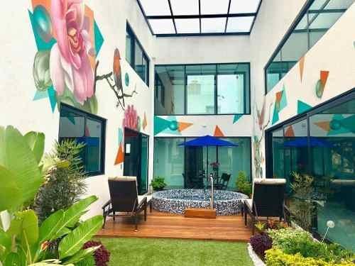Preciosa Residencia En Vista Real, Elevador, Jacuzzi, 4 Recamaras, Vapor, Jardín