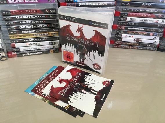 Dragon Age 2 Ps3 Original - Semi Novo - Dvd